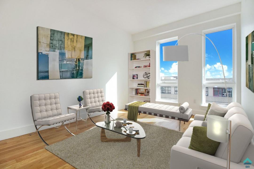Living room - Apartments for rent at 845 Grand Street in NYC