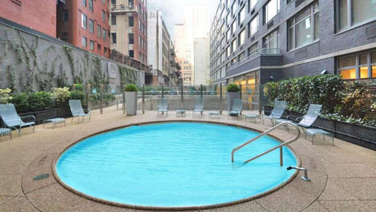 Rentals at 88 Leonard Street in NYC - Pool