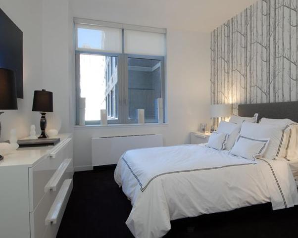 Bedroom at 88 Leonard Street in Manhattan - Apartments for rent