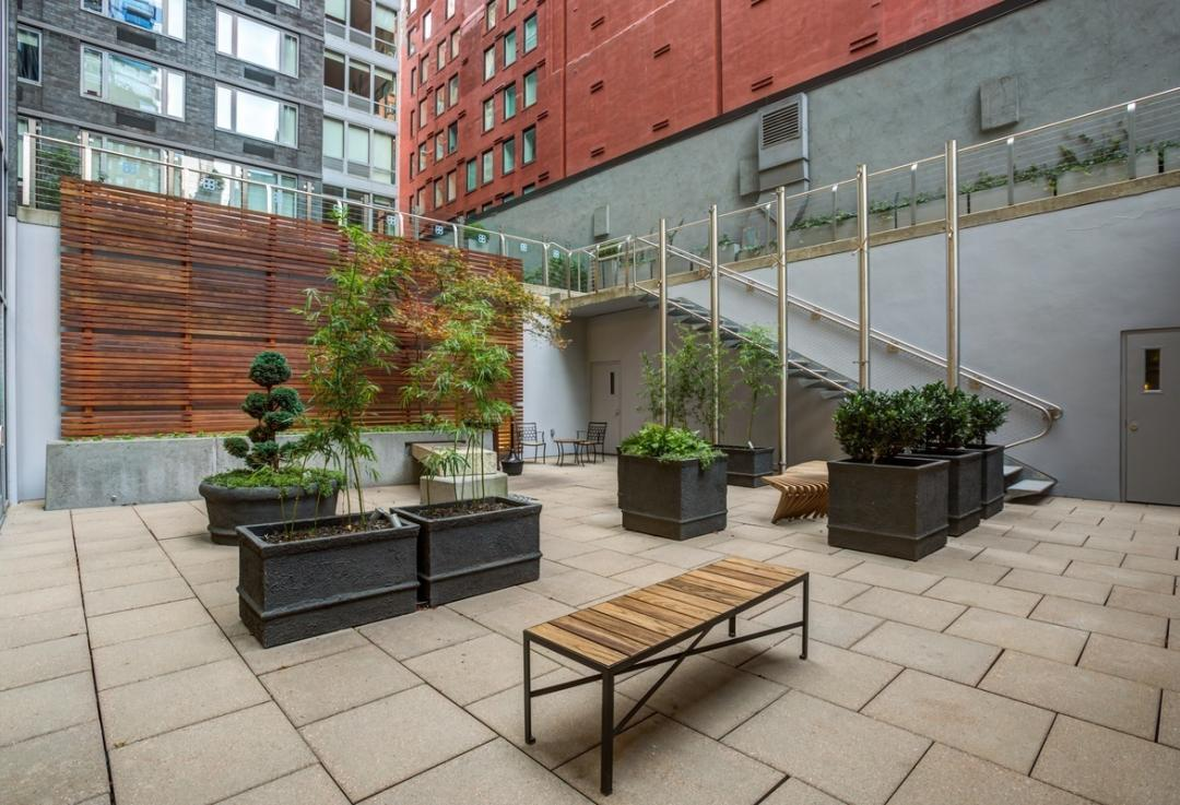 Apartments for rent at 88 Leonard Street in Manhattan - Garden