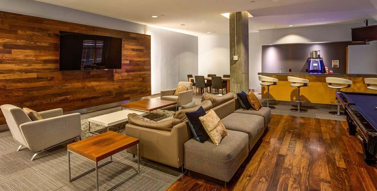 Rentals at 88 Leonard Street in NYC - Resident Lounge