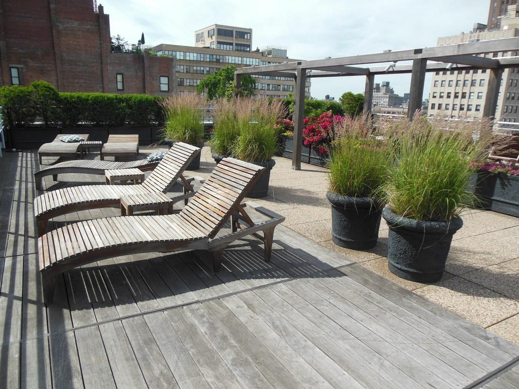 Terrace at 88 Leonard Street in Tribeca