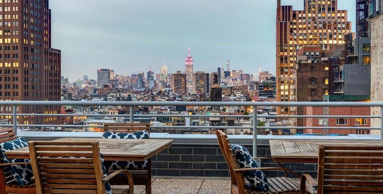 Stunning view from  88 Leonard Street in NYC - Apartments for rent