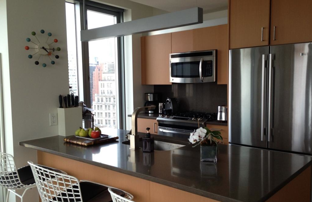 Apartments for rent in NYC at 8 Spruce Street - Kitchen