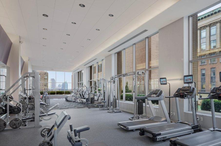 90W Gym - 90 Washington Street apartments for rent