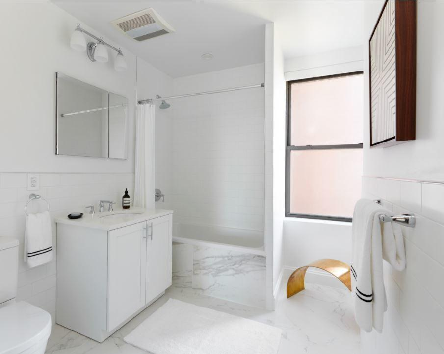 Bathroom at 915 West End Ave in NYC - Apartments for rent