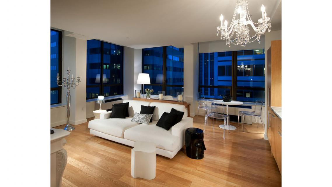 95 Wall Street Living Room