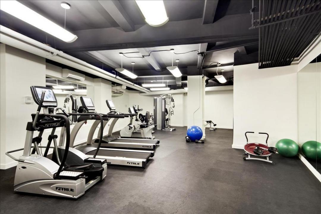 Gym at 98 Riverside Drive in Upper West Side