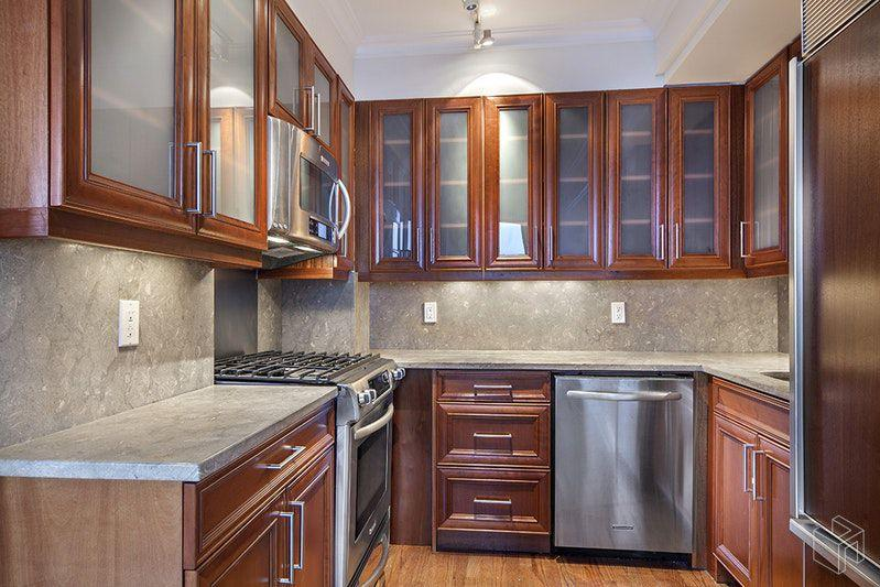 Kitchen at 98 Riverside Drive in Upper West Side