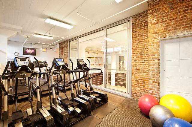 Apartments for rent at 99 Gold Street - Fitness center