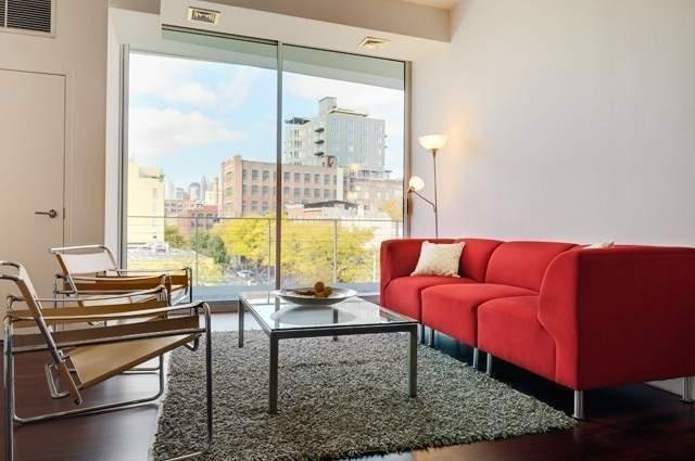 Apartments for rent at 99 Gold Street - Living room