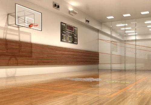 400 West 63rd Street Basketball Court – Manhattan Rental Apartments