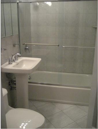 150 East 58th Street Bathroom - NYC Rental Apartments