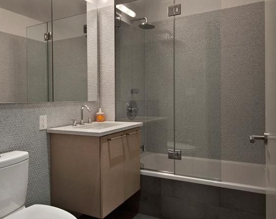 Bathroom view of Apartments Rentals at 208 West 96th Street