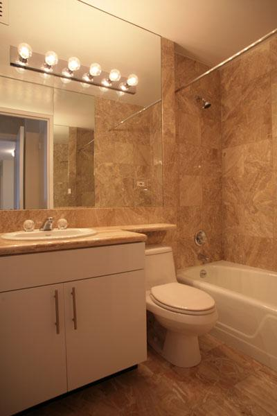 220 East 72nd Street Bathroom - NYC Rental Apartments