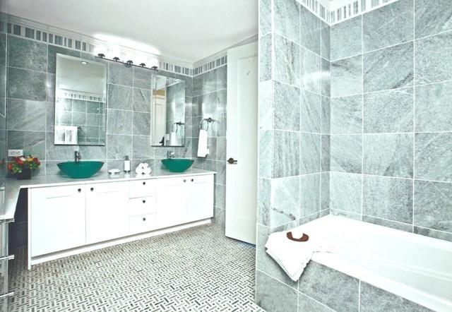 Bathroom at 30 Lincoln Plaza NYC