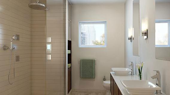 Bathroom of 42-51 Hunter Street - LIC Rentals