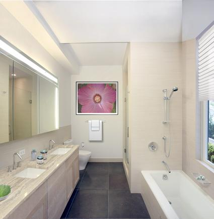 55 Thompson Street Bathroom - Manhattan Apartment for rent
