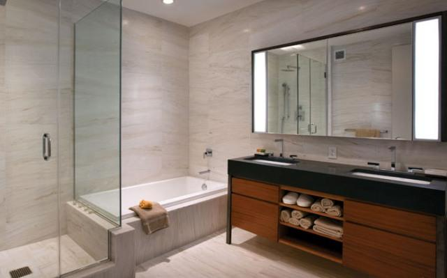 Bathroom at 75 Wall Street Manhattan Apartments for rent