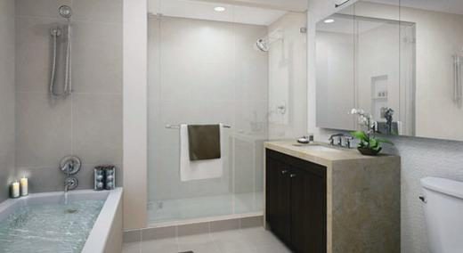200 North End Avenue apartments for rent  Bathroom