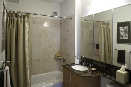 Bathroom at River East 408 East 92nd Street Manhattan