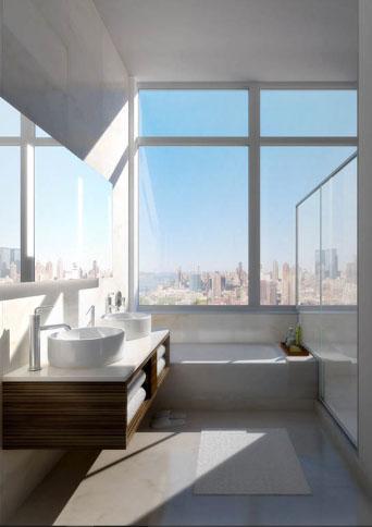 Rental Apartments at 620 West 42nd Street Bathroom