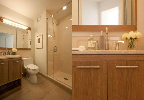 Rental Apartments at 400 West 63rd Street Bathroom