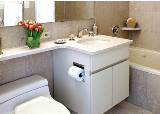 The Caldwell Bathroom - Manhattan Apartments for rent