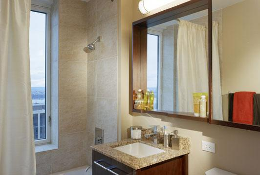 Bathroom at The Epic 125 West 31st Street NYC
