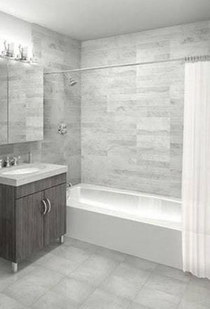 Townsend rental building Bathroom – NYC Flats
