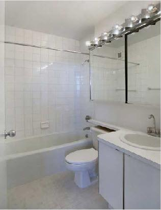 424 West End Avenue Bathroom - Manhattan Rental Apartments