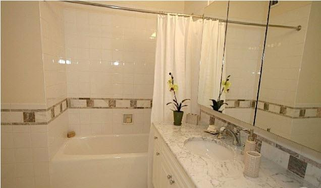 Bathroom at Tribeca Bridge Tower 450 North End Avenue Manhattan