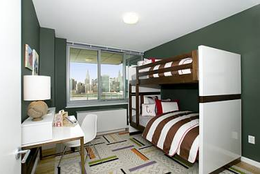 Bedroom - 46-15 Center Boulevard - LIC Rental Apartments