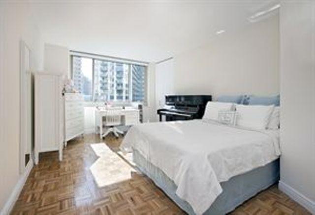 Bedroom at 30 Lincoln Plaza Manhattan