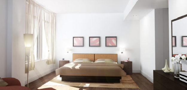 34 Leonard Street Bedroom - Manhattan Rental Apartments