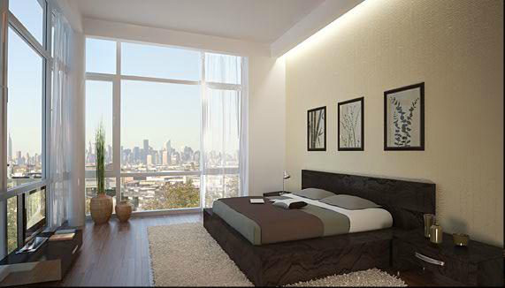 Fusion Condominium Bedroom - Long Island City Apartments
