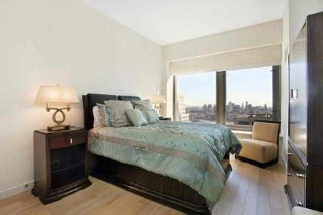 Bedroom at 75 Wall Street Manhattan