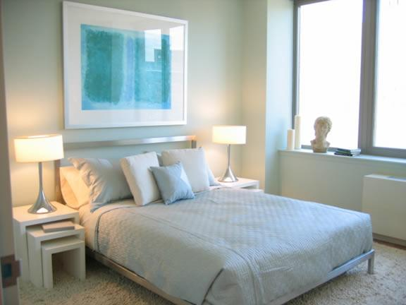 Bedroom of Rental Apartments at River East