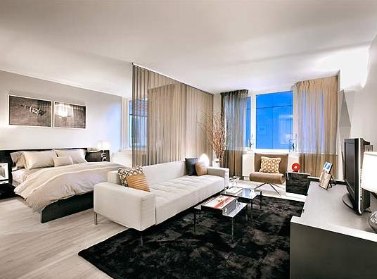 Bedroom at The Sheffield 322 West 57th Street Manhattan