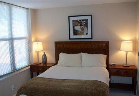 The Concerto Bedroom - Manhattan Apartments for rent