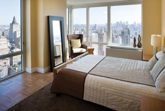 Bedroom of rental apartments at 125 West 31st Street
