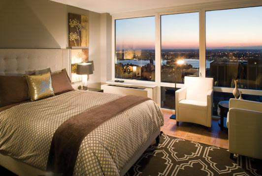 Bedroom at The Epic 125 West 31st Street Manhattan
