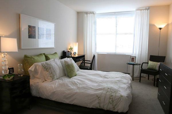 The Fairmont Bedroom - Manhattan Apartments for rent