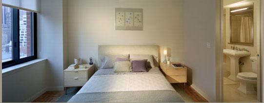 400 West 55th Street Bedroom - NYC Rental Apartments