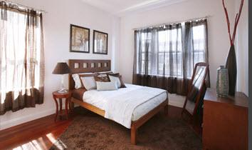 601-607 West 137th Street Bedroom - Washington Heights Apartment Rent
