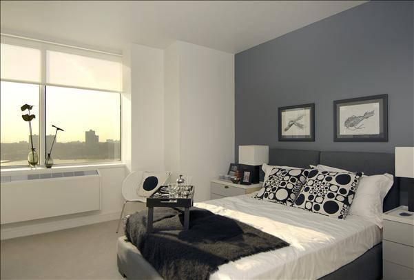 Bedroom at Trump Place 160 Riverside Boulevard Manhattan