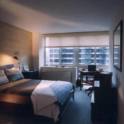 Atlas New York rental building Bedroom - NYC Flats