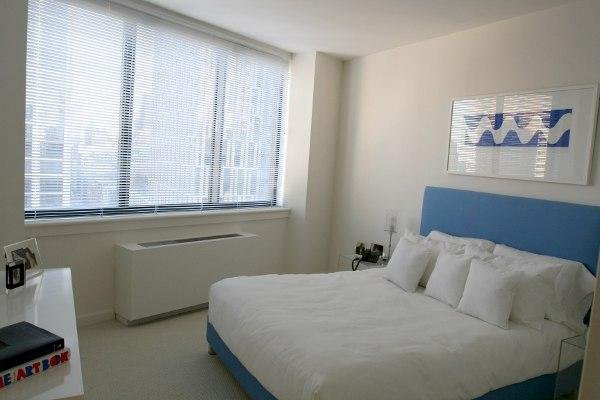 Bedroom view of Apartment Rentals at Tribeca Bridge Tower