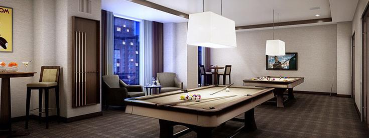 Liberty Luxe Billiards - Manhattan Apartments for rent