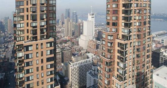 One Columbus Place View - Clinton Apartment Rentals